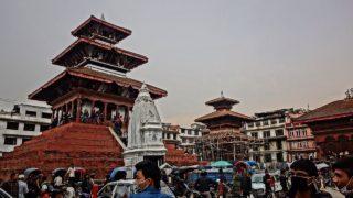 ネパールで生き神クマリ様に出会う。運よく写真撮影に成功したよ!