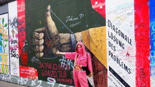 ベルリンの壁*イーストサイドギャラリーで、個性豊かなアートを。