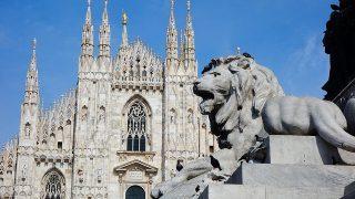 ファッションの発信地・オシャレなミラノを観光。