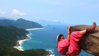 【ブラジルの絶景】ペドラ・ド・テレグラフォへの行き方&撮影会!リオデジャネイロの観光にマストな場所。