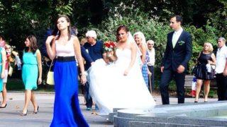 花嫁さんを一番多く見た日 in ブルガリア ソフィア