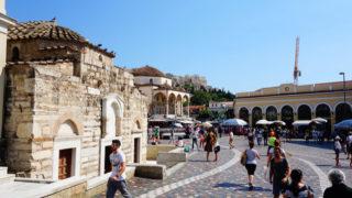 教科書で見た世界が目の前に・・!inアテネ