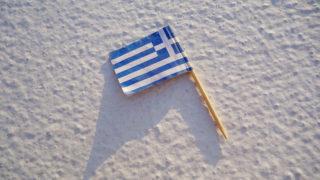 青と白の街・フィラ inサントリーニ島