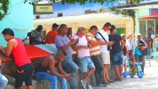キューバ旅行。Wi-Fiありましたよ、有料だけど。